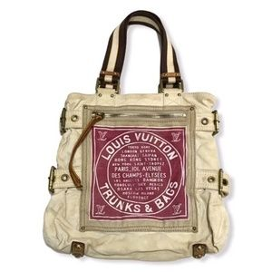 Louis Vuitton Limited Edition Red Toile Globe MM